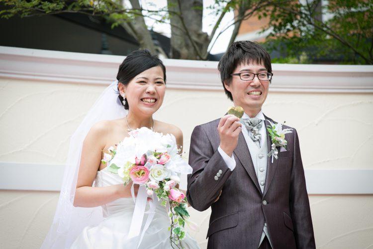 大好きなSNOOPYに囲まれた結婚式!