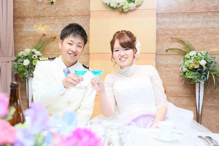 大好きな紫色の結婚式!