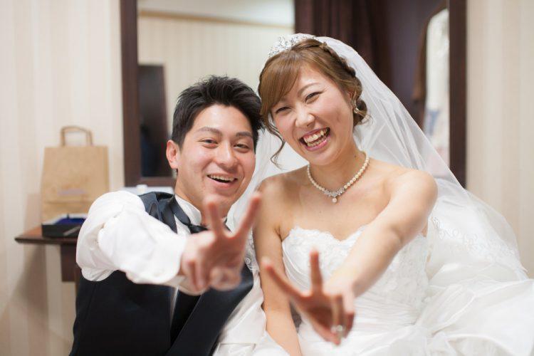 憧れの式場で明るく楽しい結婚式!